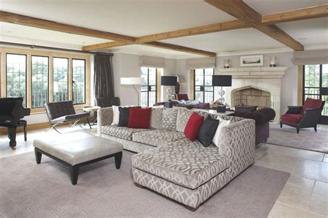 contemporary english country home  gloucestershire