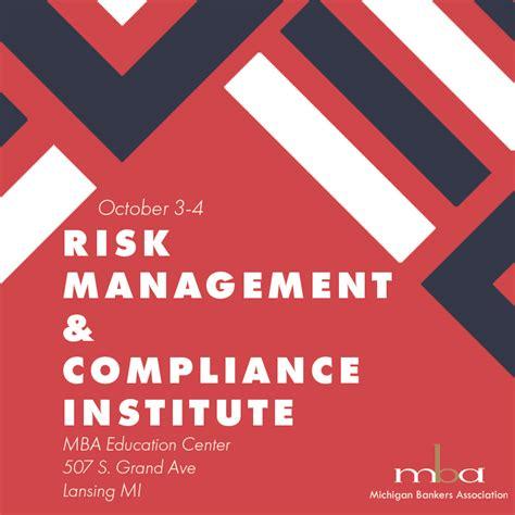risk management compliance institute