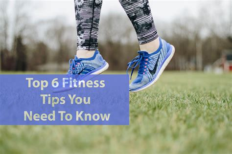 fitness tips know need