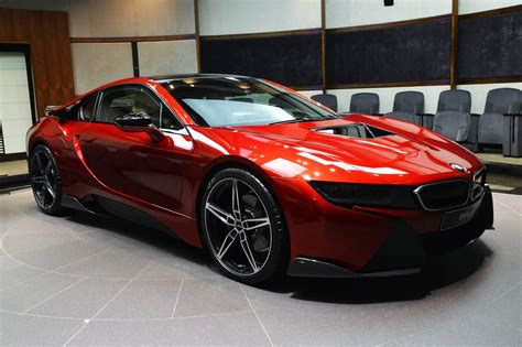 red bmw 2016 1 of 1 lava red bmw i8 built for princess al hawi in abu
