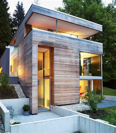 Moderne Häuser Hanglage by Kleiner Grundriss Am Hang Haus Am Hang Haus Hanglage