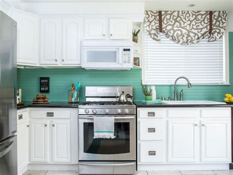 white kitchen tile backsplash how to cover an tile backsplash with beadboard hgtv 1409
