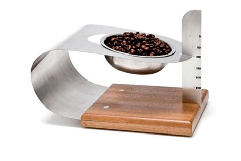 balance cuisine design une balance de cuisine minimaliste