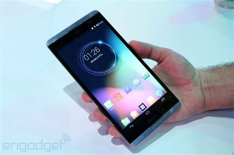 The 6.8-inch Hisense X1 smartphone is basically a tablet ...