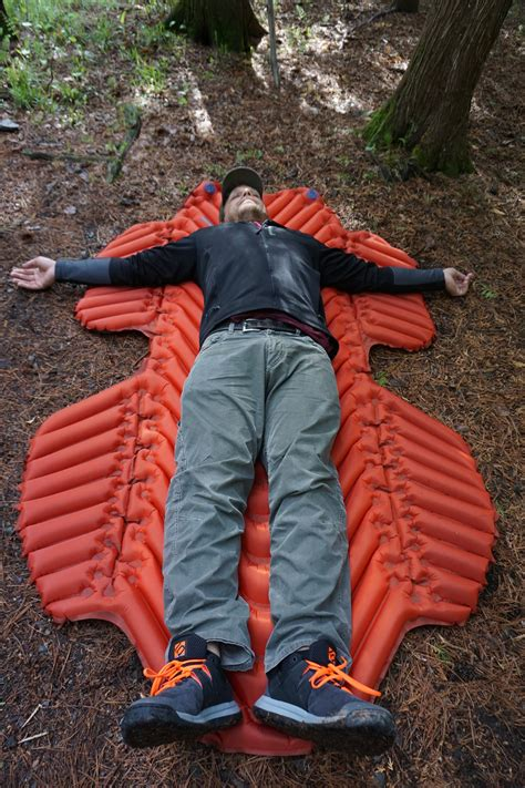 Sleeping Hammock by Review Sleeping Pad With Wings For Hammock Cers