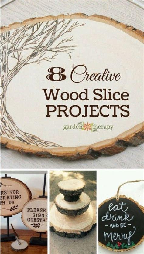 creative wood slice projects handmade  homegrown