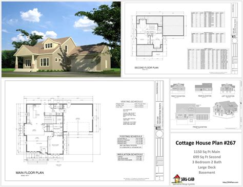 cottage floor plans free free sle cottage house plans rv garage plans and