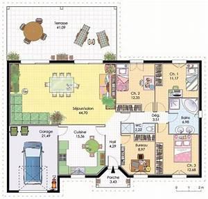 maison contemporaine 4 detail du plan de maison With faire son plan maison 5 maison contemporaine 3 detail du plan de maison