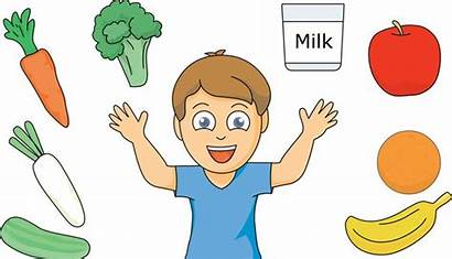 Healthy Eating Clipart Child Nutritive
