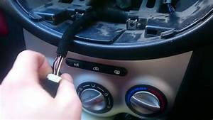 Remove Original Radio Dash Hyundai I10 2009