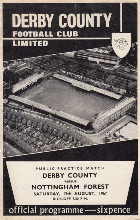 Pin by Graham Poyser on Derby County Football Club the ...