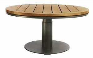 Table Ronde De Jardin. imhotep grande table ronde diam tre 160 125cm ...