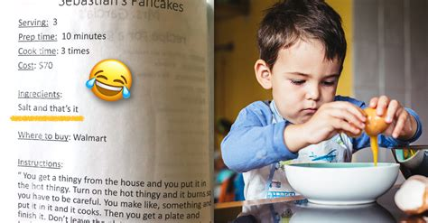 6 Hilariously Absurd Recipes Written by Pre-K Kids | 22 Words