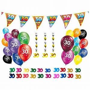Deco Anniversaire 20 Ans Pas Cher : deco anniversaire 30 ans pas cher ~ Melissatoandfro.com Idées de Décoration