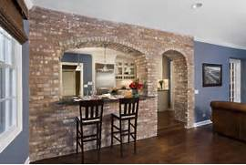 Brick Wall Interior House Brick Wall In Modern Interior Designs Furnish Burnish