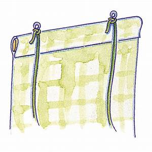 Make a roll up blind for How to make roll up curtains