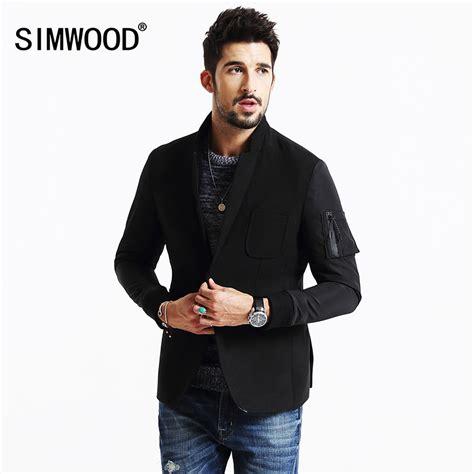 מוצר  Simwood 2017 New Winter Casual Blazers Men Fashion