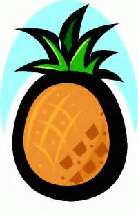 Free Pineapple Clip Art