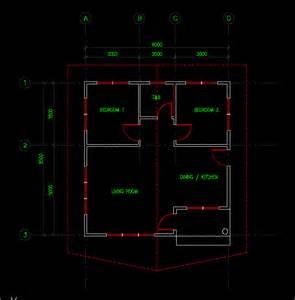 AutoCAD Simple House Plans