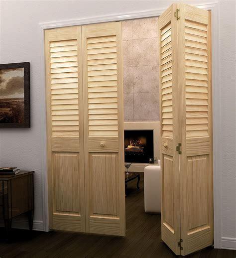 Louvered Bifold Closet Doors Just As Stylish As Practical