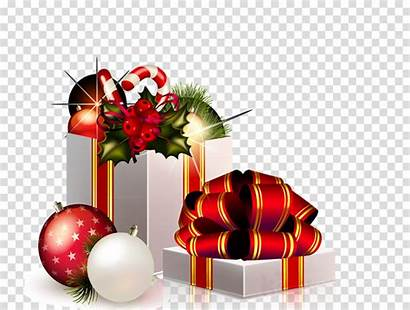 Santa Clip Claus Clipart Gifts Transparent Presents
