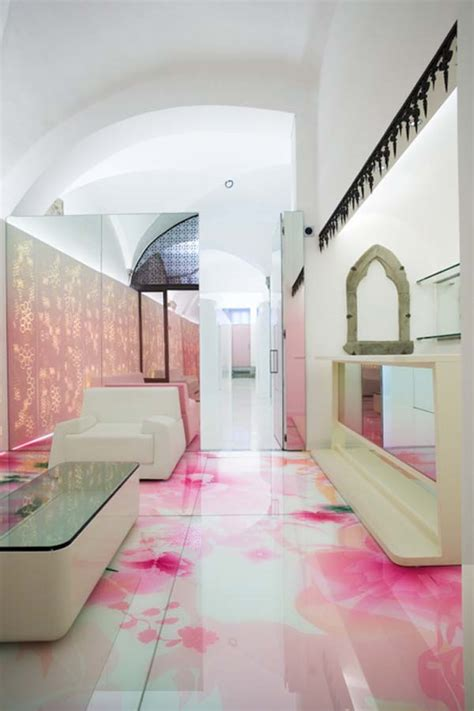relaxing mixture of colours skin aesthetic clinic