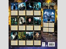 Harry Potter Calendars 2018 on EuroPosters