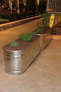 Another Example Of A Water Trough Planter  Would Be A Good