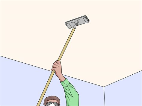 sand  ceiling  steps  pictures wikihow