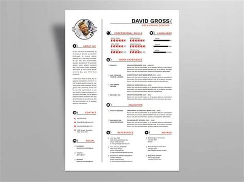 Resume Template Indesign by Free Resume Templates In Indesign Format Creativebooster