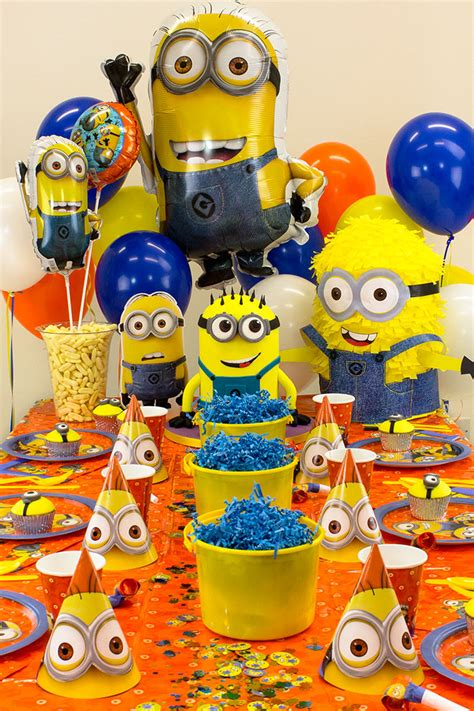minion party ideas  kids party delights blog