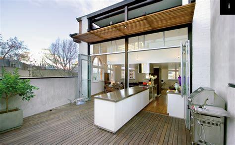 split kitchen    indoors  outdoors cool