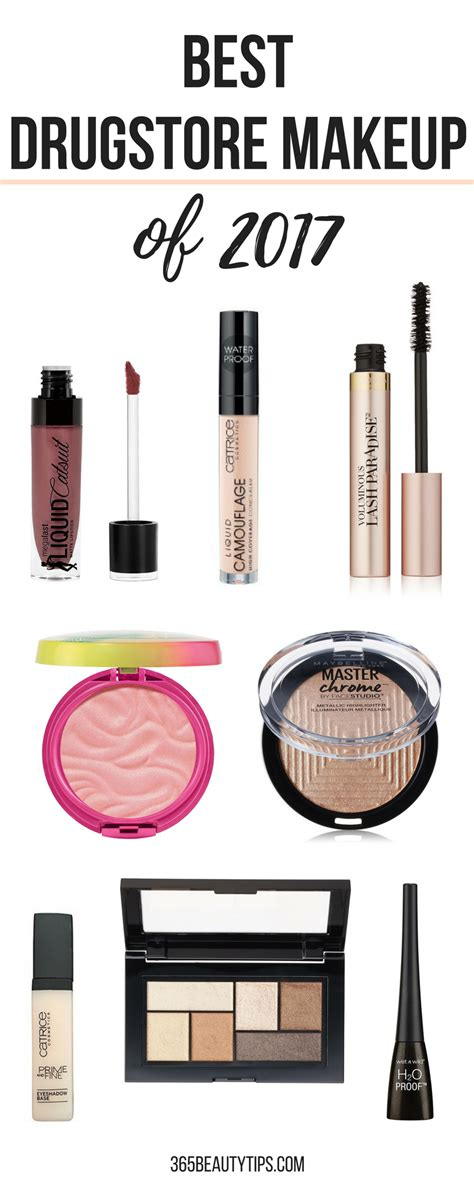 The Best Drugstore Makeup Of 2017 365beautytips