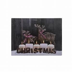 Bilder Zum Aufhängen : led leinwand bild zum aufh ngen weihnachten winter deko geschenk wand dekoration kaufen bei ~ Frokenaadalensverden.com Haus und Dekorationen