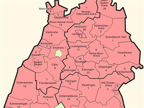 In den impfzentren sieht das anders aus. Karte Baden Württemberg Regionen