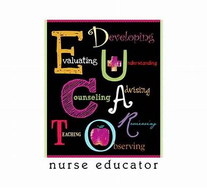 Nurse Educator Education Patient Nursing Clip Teaching