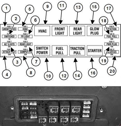 Panel Fuse Box Diagram Bobcat 753 by Bobcat S185 Fuse Box Diagram Auto Genius