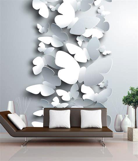 finearts digitally printed wallpaper  butterflies