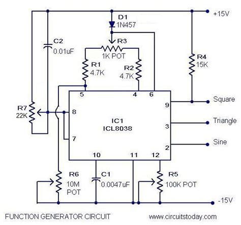 Function Generator Circuit Using Icl Pulse