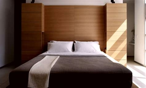 relax wall 21 beautiful wooden bed interior design ideas