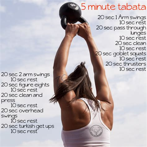 tabata workout kettlebell plan marines training definition