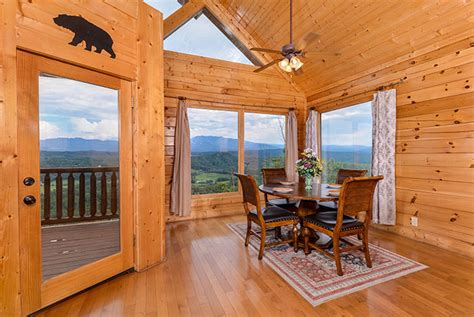 pigeon forge cabin legacy views   theater