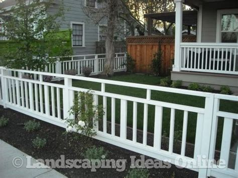 A Cool Alternative To A White Picket In The Front Yard