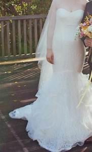 Vera wang lillian 1800 size 6 used wedding dresses for Vera wang lillian wedding dress