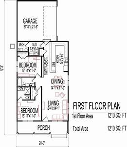 small low cost economical 2 bedroom 2 bath 1200 sq ft With small 1 story house plans