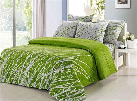 green duvet cover tree king size bed duvet doona quilt cover