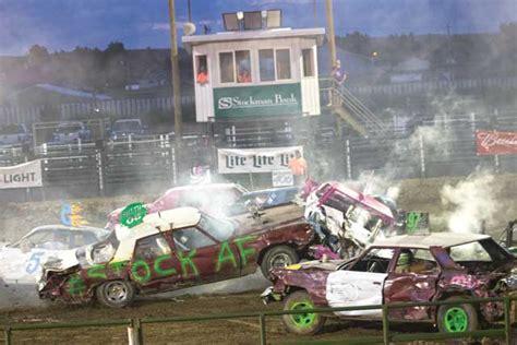 Sidney Jaycees Demolition Derby - The Roundup