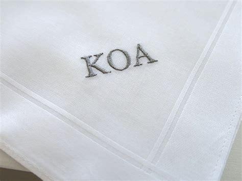 monogrammed handkerchiefs men 2 letter set of 3 men 39 s fine cotton handkerchief style 202 with 3 initial
