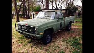 New M1008 Cucv - 6 2 Diesel Truck - 1984