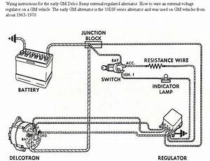 Ford Alternator Wiring Diagram Internal Regulator